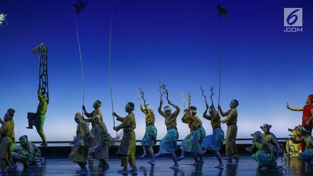Pementasan musik-teater I LA GALIGO