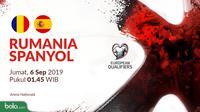 Kualifikasi Piala Eropa 2020 - Rumania Vs Spanyol (Bola.com/Adreanus Titus)