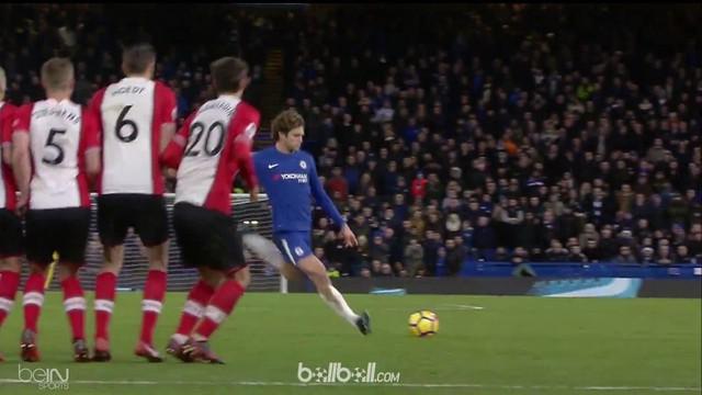 Berita video highlights Premier League 2017-2018, Chelsea vs Southampton, dengan skor 1-0. This video presented by BallBall.