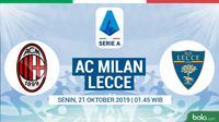 Serie A - AC Milan Vs Lecce (Bola.com/Adreanus Titus)