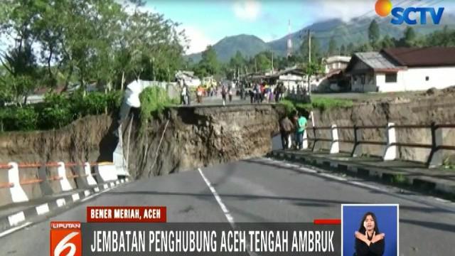 Beruntung tidak ada korban jiwa dalam kejadian ini, karena saat kejadian tidak ada warga yang tengah melintas.