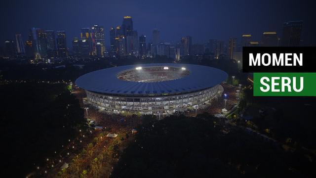 Banyak momen-momen seru dan menegangkan dari Jakmania di luar SUGBK saat Persija Jakarta juara Liga 1 2018. Apa saja momen tersebut?