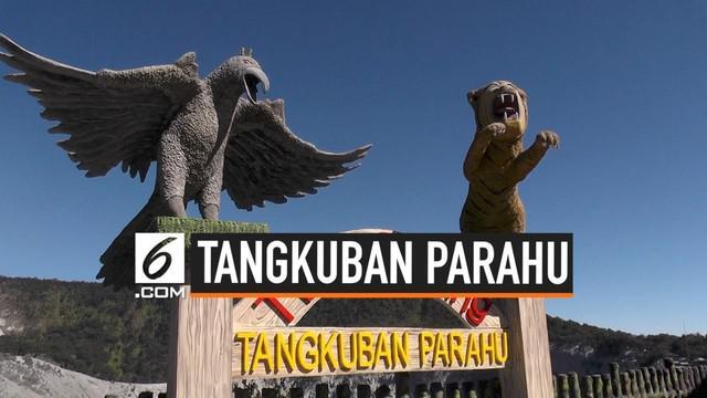 Pengelola wisata Tangkuban Parahu batal membuka lokasi untuk para pengunjung. Kawasan tersebut baru bisa dimasuki para pedagang. Apa alasannya?