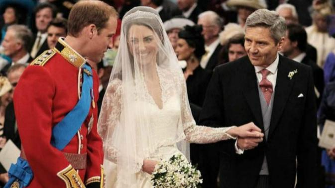 Pernikahan Pangeran William dan Kate Middleton (Dominic Lepinski/AP)