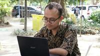 Fachruddin Ari Setiawan, Mahasiswa ITS Surabaya (Foto:Liputan6.com/Dian Kurniawan)