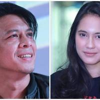 Ariel NOAH dan Pevita Pearce. (Adrian Putra/Bintang.com)