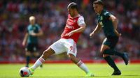 Aksi Dani Ceballos ketika Arsenal berhadapan dengan Burnley. (dok. Arsenal FC)
