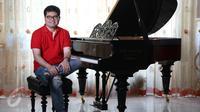 Pianis dan Komposer Ananda Sukarlan (Liputan6.com/Immanuel Antonius)
