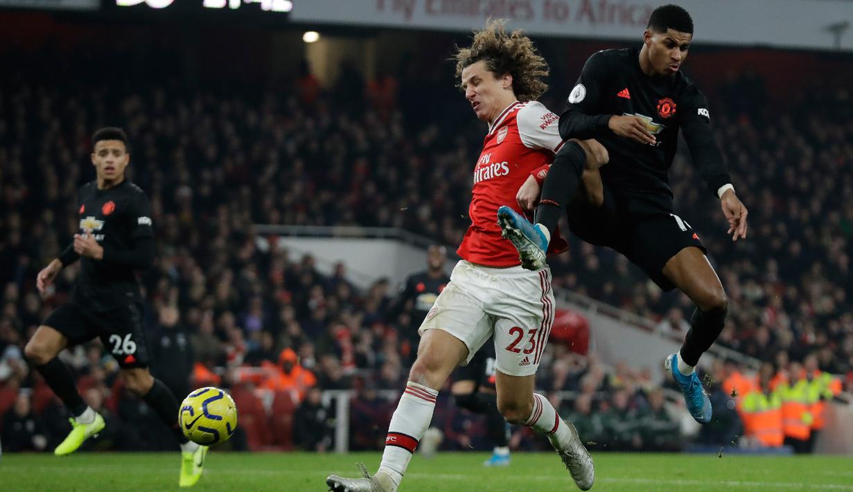 FOTO Arsenal Hajar Manchester United Di Emirates Stadium