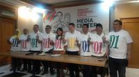 Tim Kampanye Nasional (TKN) Koalisi Indonesia Kerja (KIK). (Liputan6.com/Putu Merta)