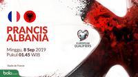 Kualifikasi Piala Eropa 2020 - Prancis Vs Albania (Bola.com/Adreanus Titus)
