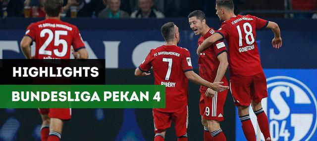 Berita Video Highlights Bundesliga Pekan ke-4, Bayern Munchen Masih Sempurna