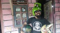 gung's helm retro buat helm bertema unik