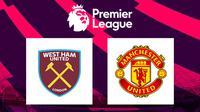 Premier League - West Ham United Vs Manchester United (Bola.com/Adreanus Titus)