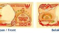 Daftar mata uang yang batas penukaran terakhir November 2016 di Kantor Perwakilan Bank Indonesia Dalam Negeri.