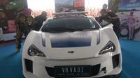 Mobil listrik V8 VADI (Vehicle Autoelectric Drive International) (Dian/Liputan6.com)