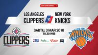Los Angeles Clippers Vs New York Knicks (Bola.com/Adreanus Titus)