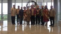 Peresmian Menara Astra yang berlokasi di Sudirman, Jakarta. Liputan6.con/Bawono
