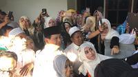 Prabowo Subianto menghadiri haul Habib Syekh Abu Bakar bin Salim (Foto;Istimewa)