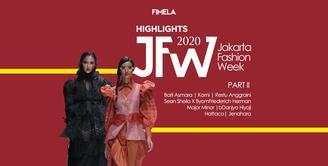 Highlights JFW 2020 Part 2 | Barli Asmara | Kami | Restu Anggraini | Sean Sheila X Byo | Friederich Herman | Major Minor | Danjyo Hiyoji | Hattaco| Jenahara