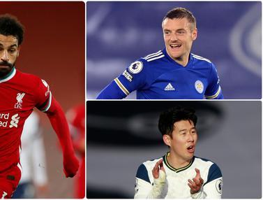 Top Skor Sementara Liga Inggris, Mohamed Salah Perkasa di Puncak