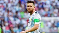 4. Lionel Messi - Penyerang Barcelona (Argentina). (AFP/Luis Acosta)