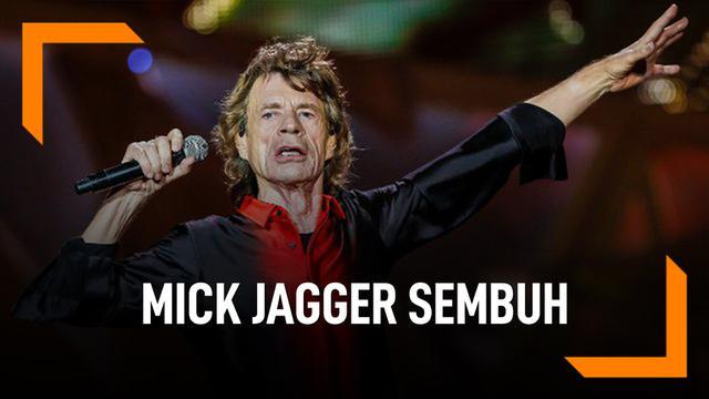 Rolling Stones Siap Tour Lagi Karena Mick Jagger Sembuh