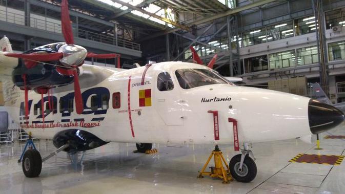 Pesawat N219 Nurtanio produksi PT Dirgantara Indonesia (Tommy Kurnia/Liputan6.com)#source%3Dgooglier%2Ecom#https%3A%2F%2Fgooglier%2Ecom%2Fpage%2F%2F10000