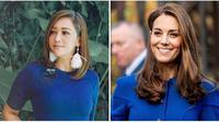 Maia Estianty-Kate Middleton. (dok. Instagram @maiaestiantyreal/https://www.instagram.com/p/B2N-KTcnEr2/ Charlotte Graham/Pool via AP)