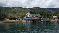Google menyajikan keindahan panorama Danau Toba melalui fitur Street View. (Liputan6.com/Nafiysul Qodar)