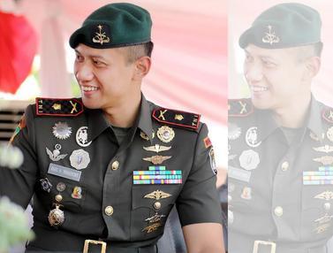 20160923-Cagub DKI Agus Yudhoyono dalam Seragam Militer-Instagram