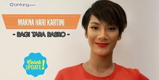 Tara Basro menjelaskan perjuangan masing-masing wanita di berbagai bidang.