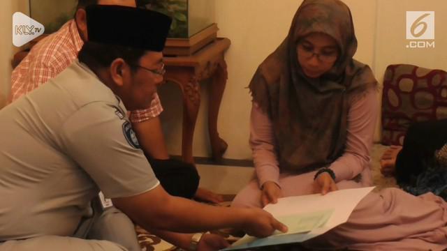 Keluarga Dodi Junaidi, Keluarga Dodi Junaidi, salah satu korban jatuhnya pesawat Lion Air JT 610 mendapatkan santunan uang dari Jasa Raharja. satu korban jatuhnya pesawat Lion Air JT 610 mendapatkan santunan uang dari Jasa Raharja.
