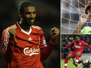 Berikut ini tujuh wonderkid yang kariernya meredup setelah bergabung dengan Liverpool. Bersinar di usia muda namun tajinya menghilang saat memasuki era keemasan. (Kolase foto-foto dari AFP)