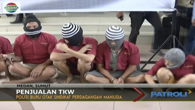 Mereka diberangkatkan ke Malaysia melalui jalur Medan, Sumatera Utara.