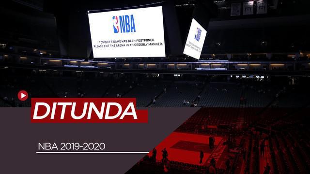 Berita Video NBA Tunda Pertandingan Usai Pebasket Utah Jazz, Rudy Gobert Positif Virus Corona