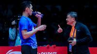 Tunggal putra Indonesia, Jonatan Christie, gagal lolos ke semifinal BWF World Tour Finals 2019. Jojo kalah 14-21, 14-21 dari Kento Momota pada laga ketiga Grup B di Tianhe Gymnasium, Guangzhou, Jumat (13/12/2019). (dok. PBSI)