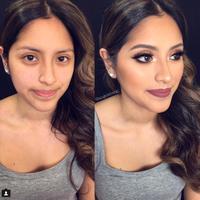 Tutorial makeup bikin mupeng. (via: Instagram/angelaheng_)
