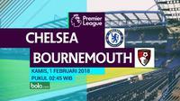 Premier League_Chelsea Vs AFC Bournemouth (Bola.com/Adreanus Titus)