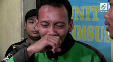 Seorang driver ojek online membuat berita hoax penemuan bayi di Depok.