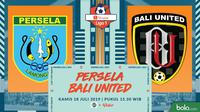 Shopee Liga 1 - Persela Lamongan Vs Bali United (Bola.com/Adreanus Titus)