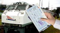 Ilustrasi tiket kereta api (Liputan6.com/Andri Wiranuari)