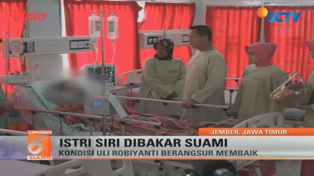 Pria di Jember, Jawa Timur, tega membakar istri sirinya sendiri. Apa penyebabnya?