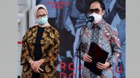 Direktur Utama Bio Farma Honesti Basyir menyampaikan Bio Farma pastikan kapasitas produksi vaksin COVID-19 bisa dikelola dengan baik saat memberikan keterangan pers di Istana Kepresidenan, Jakarta, Selasa (21/7/2020). (Dok Kementerian Sekretariat Negara)