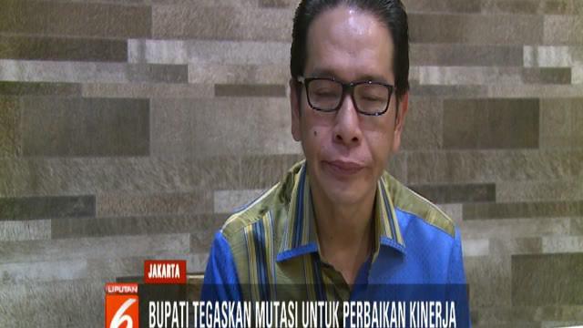 Bupati Morotai Benny Laos menegaskan kebijakan penggantian dan memutasi sejumlah Aparatur Sipil Negara atau ASN di Pemerintah Kabupaten Morotai dilakukan untuk perbaikan kinerja ASN.