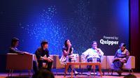 "Quipper, perusahaan teknologi pendidikan global terkemuka menggelar sesi panel berjudul ""Melangkah Maju dengan Teknologi dan Pendidikan"""