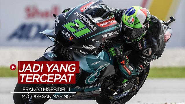 Berita Video Franco Morbidelli Tercepat di MotoGP San Marino, Valentino Rossi Gagal Podium
