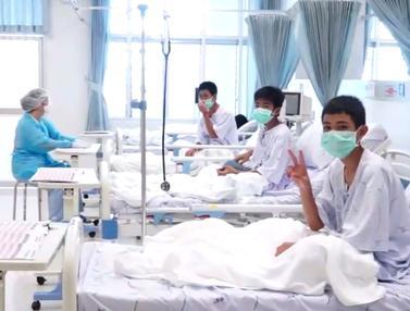 Melihat Kondisi Tim Sepak Bola Remaja Thailand Usai Diselamatkan dari Gua