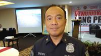 Kepala Biro Penerangan Masyarakat Divisi Humas Polri Brigjen (Pol) Dedi Prasetyo menjelaskan, pihaknya mengindentifikasi adanya kelompok yang ingin memancing kerusuhan di Fakfak, Papua Barat. (Foto: Liputan6.com/Ady Anugrahadi)