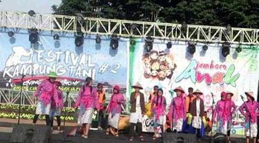 Wisatawan Kepincut Festival Kampung Tani di Kota Batu